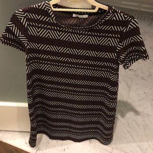 Zara patterned shift  dress